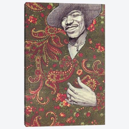 Hendrix Canvas Print #JRF31} by Jason Ratliff Art Print