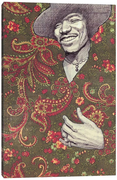 Hendrix Canvas Art Print