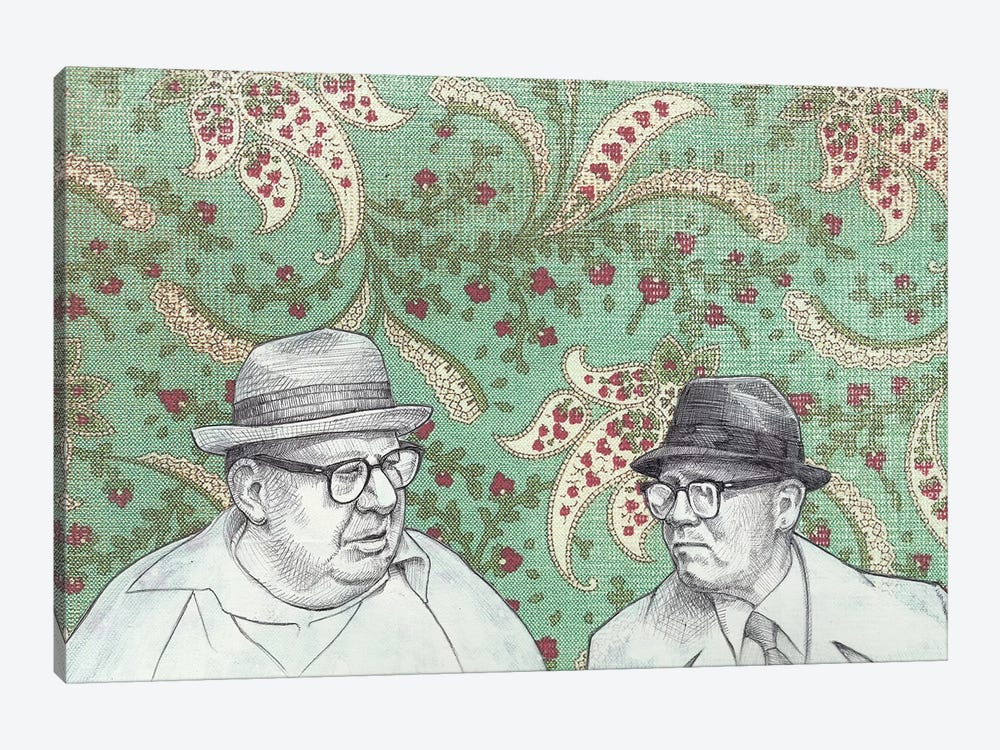 Old Men by Jason Ratliff 1-piece Canvas Artwork