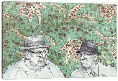 Old Men Canvas Art Print