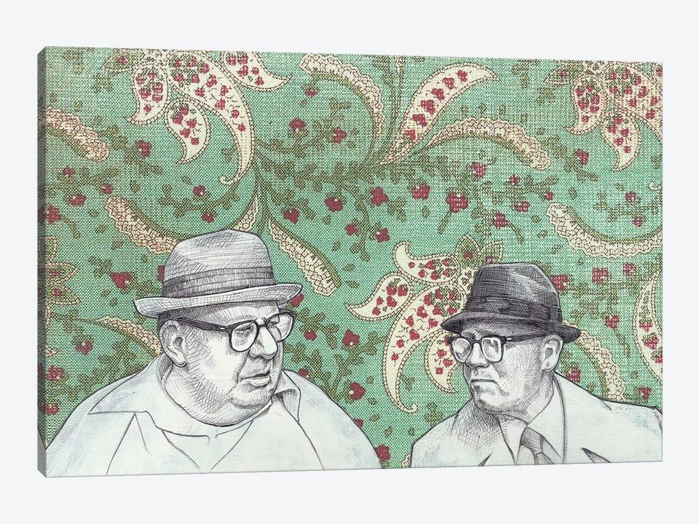 Old Men by Jason Ratliff 1-piece Canvas Artwork