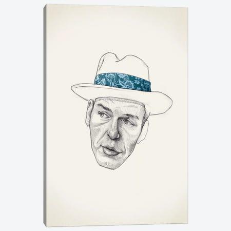 Sinatra Canvas Print #JRF34} by Jason Ratliff Canvas Wall Art