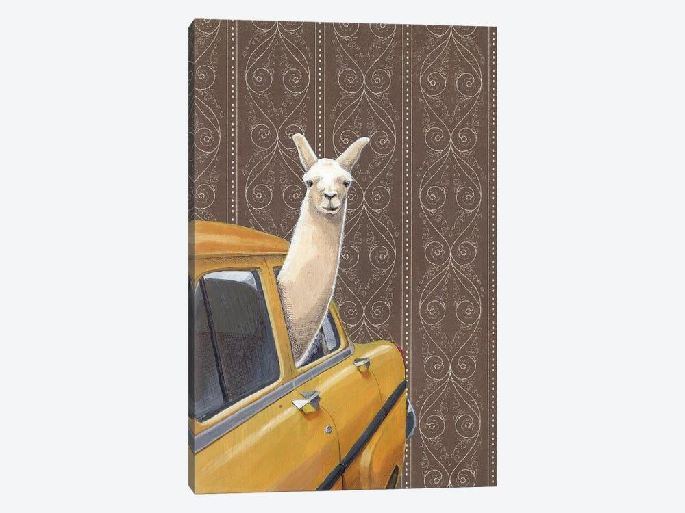 Taxin Llama by Jason Ratliff 1-piece Art Print