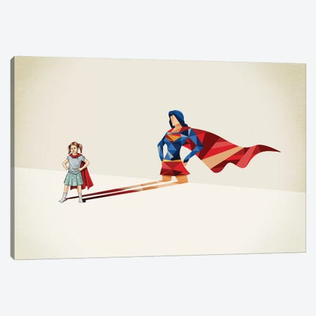 Walking Shadow Heroine Canvas Print #JRF36} by Jason Ratliff Canvas Art