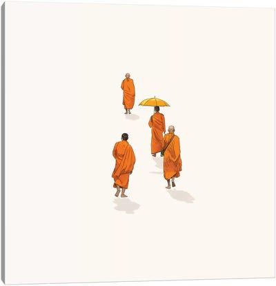Afternoon Stroll Canvas Art Print