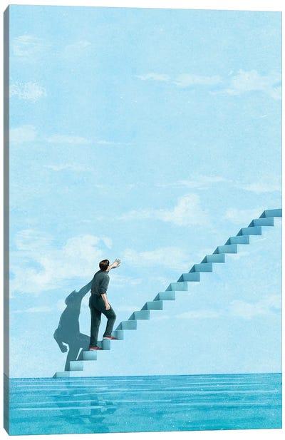Stairway Canvas Art Print