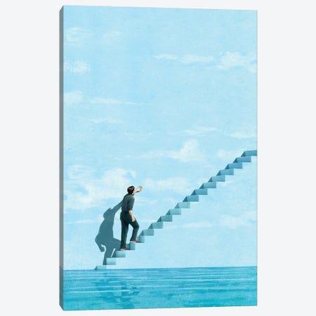 Stairway Canvas Print #JRF40} by Jason Ratliff Canvas Artwork
