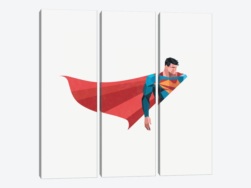Bright As Day by Jason Ratliff 3-piece Canvas Print