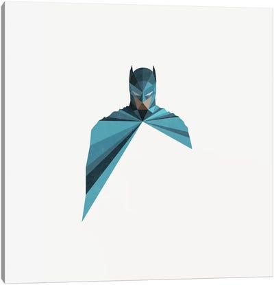 Dark As Knight Canvas Art Print