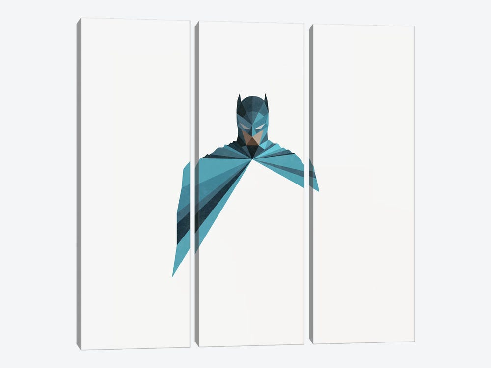 Dark As Knight by Jason Ratliff 3-piece Canvas Art