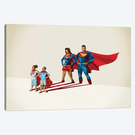Family Traits Canvas Print #JRF44} by Jason Ratliff Art Print