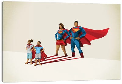 Family Traits Canvas Art Print
