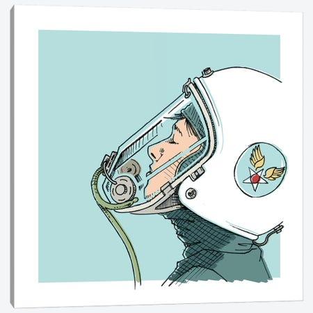 Pilot Canvas Print #JRF47} by Jason Ratliff Art Print