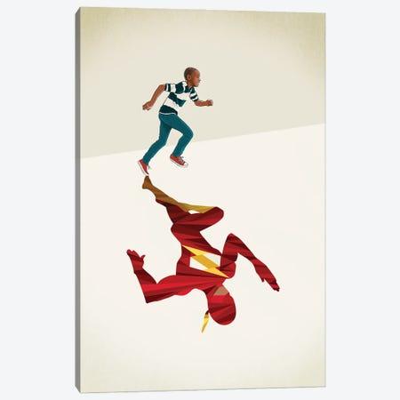 Scarlet Speedster Canvas Print #JRF56} by Jason Ratliff Canvas Art