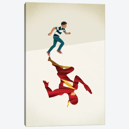 Scarlet Speedster 2 Canvas Print #JRF58} by Jason Ratliff Canvas Print