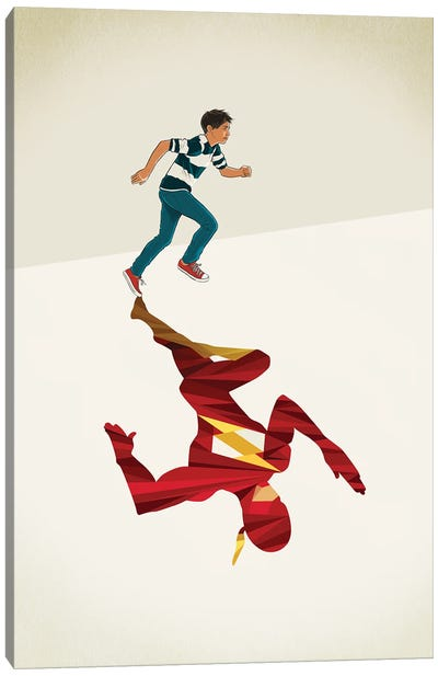 Scarlet Speedster 2 Canvas Art Print
