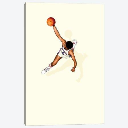 Frequent Fliers Dr J Canvas Print #JRF61} by Jason Ratliff Canvas Artwork