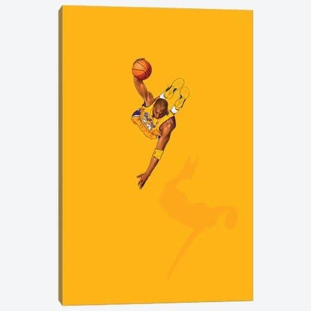 Frequent Fliers Kobe Canvas Print #JRF64} by Jason Ratliff Art Print