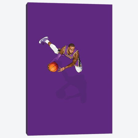 Frequent Fliers Lebron Canvas Print #JRF65} by Jason Ratliff Canvas Print