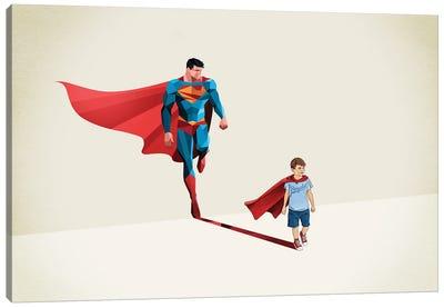Super Shadows Boy Of Tomorrow Canvas Art Print