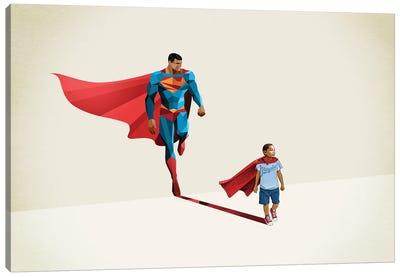 Super Shadows Boy Of Tomorrow II Canvas Art Print