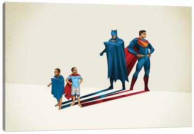 Super Shadows Neighborhoods Finest Canvas Art Print