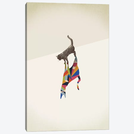 Walking Shadow Cat I Canvas Print #JRF7} by Jason Ratliff Canvas Art