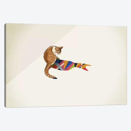 Walking Shadow Cat II Canvas Print #JRF8} by Jason Ratliff Canvas Art Print