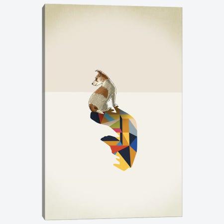 Walking Shadow Dog Canvas Print #JRF9} by Jason Ratliff Canvas Print
