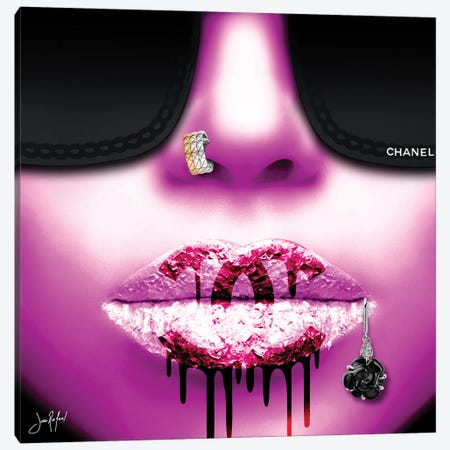 Chanel 2020 Pink Canvas Print #JRH41} by Jan Raphael Canvas Art