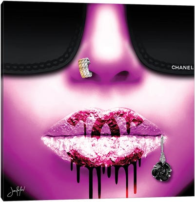 Chanel 2020 Pink Canvas Art Print