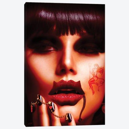 Devilips Canvas Print #JRH49} by Jan Raphael Canvas Art