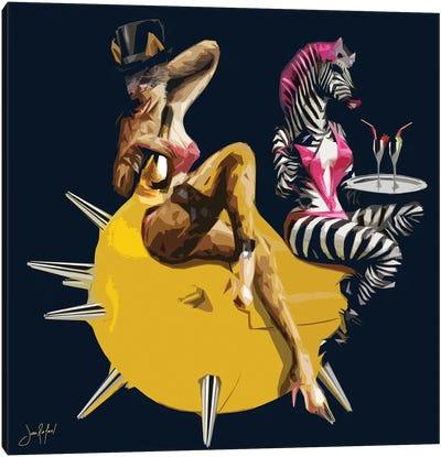 Celebs Canvas Art Print