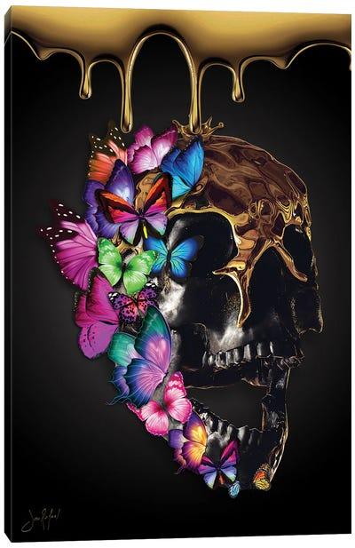 Skullfly Canvas Art Print