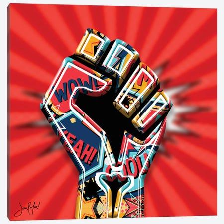 Fistart Canvas Print #JRH72} by Jan Raphael Art Print