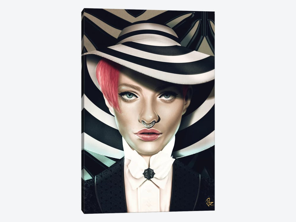 Stripes by Giulio Rossi 1-piece Canvas Wall Art