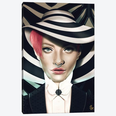 Stripes Canvas Print #JRI12} by Giulio Rossi Canvas Art