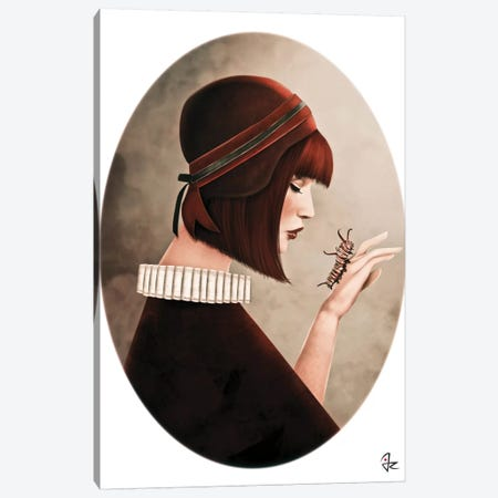 The Monarch Canvas Print #JRI14} by Giulio Rossi Art Print