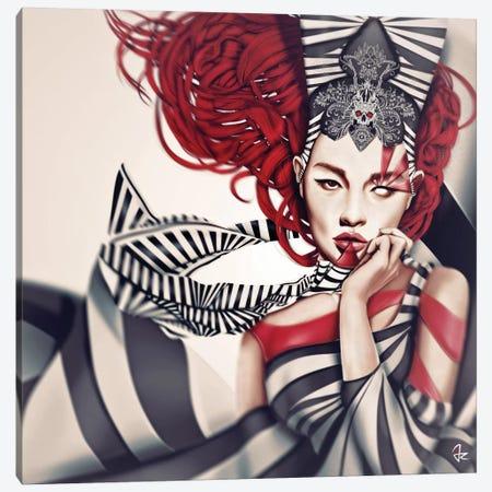 The Queen Canvas Print #JRI15} by Giulio Rossi Art Print