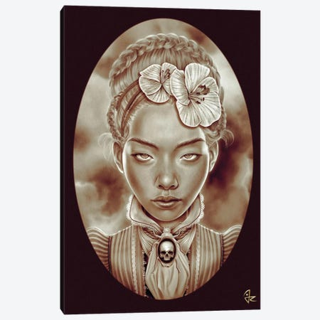 Victorian Ghost Canvas Print #JRI16} by Giulio Rossi Art Print