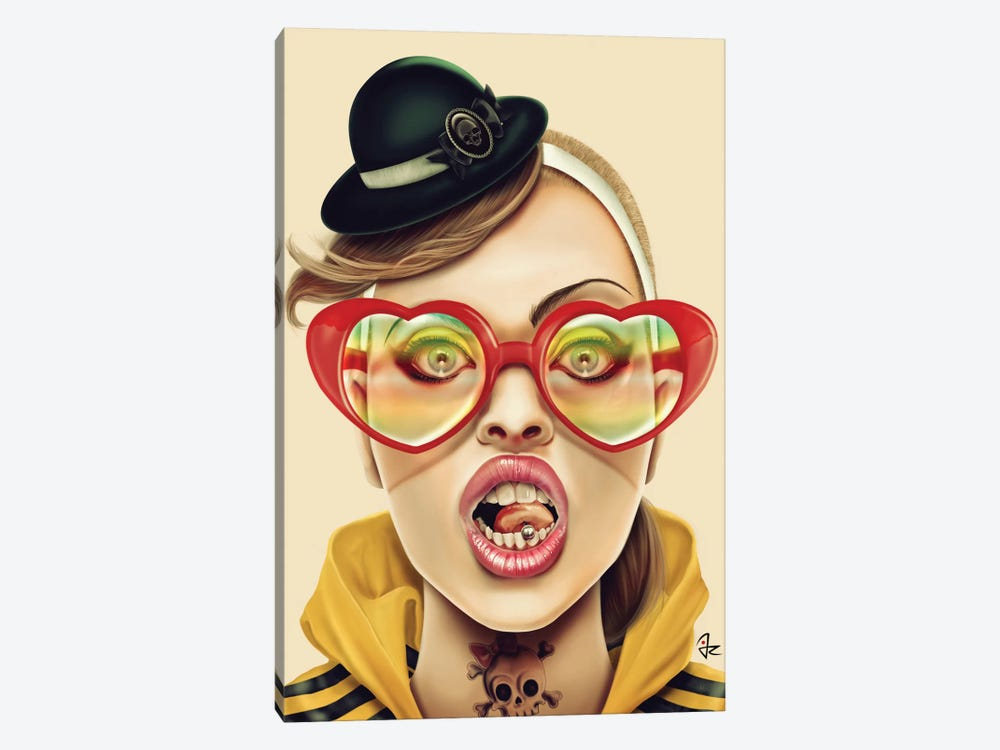 WOW by Giulio Rossi 1-piece Canvas Print