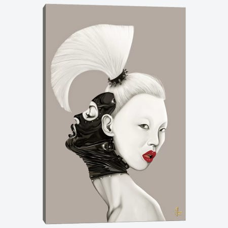 Fuck Fear II Canvas Print #JRI1} by Giulio Rossi Canvas Wall Art