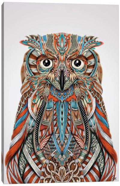 Eagle Owl Canvas Print #JRI24