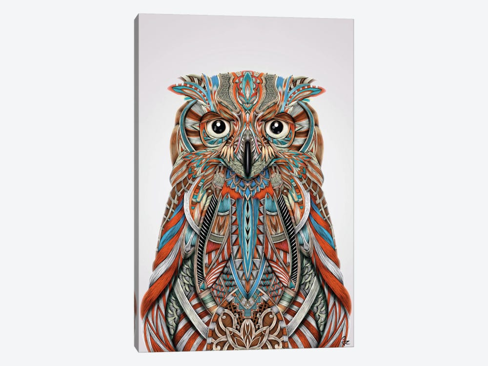 Eagle Owl by Giulio Rossi 1-piece Art Print