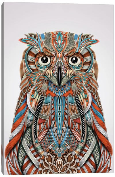 Eagle Owl Canvas Art Print