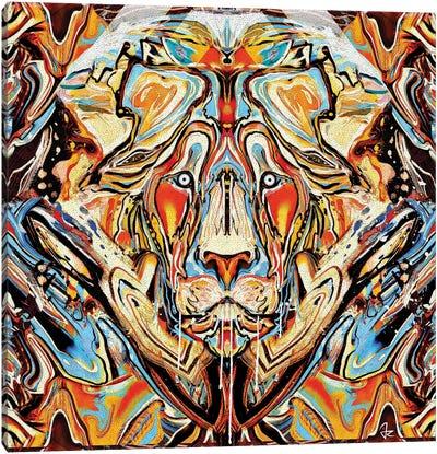 Lion Canvas Print #JRI26