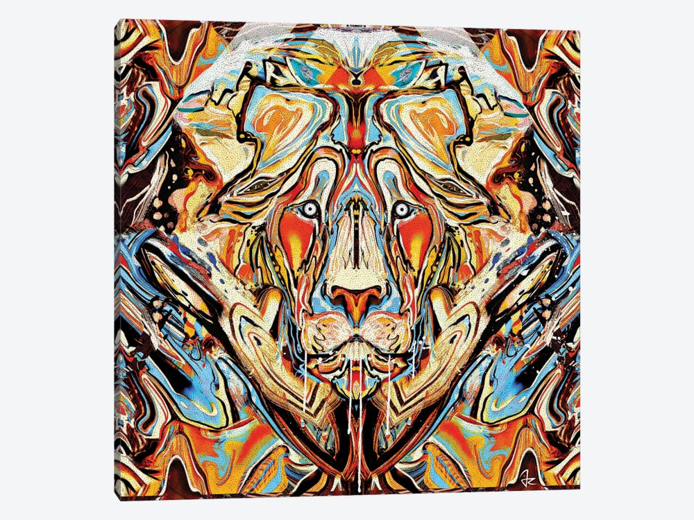 Lion by Giulio Rossi 1-piece Canvas Print
