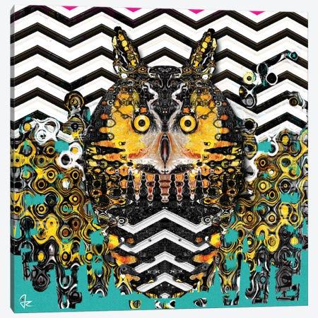 Owl Canvas Print #JRI27} by Giulio Rossi Canvas Wall Art