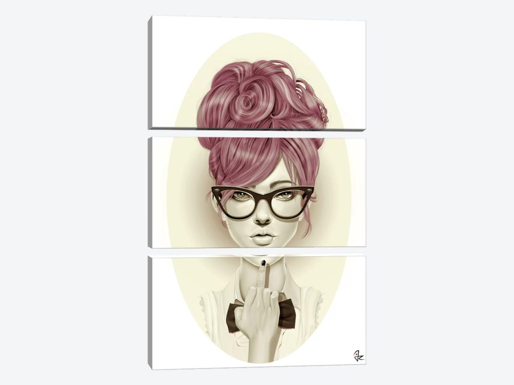 Fuck U by Giulio Rossi 3-piece Art Print