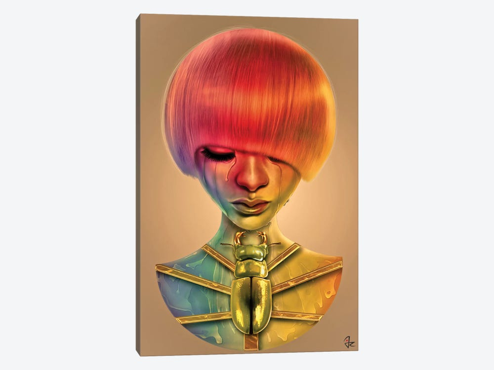 The Gold Bug by Giulio Rossi 1-piece Canvas Artwork